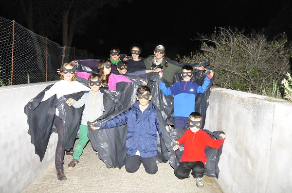 Bat Night en el Parque Regional del Sureste de Madrid