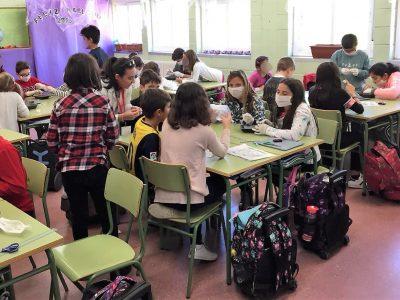 Actividades científicas con escolares del CEIP Julio Cortázar