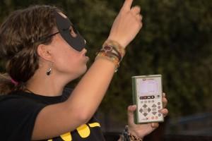 Elena Tena interpretó los ultrasonidos registrados por el detector