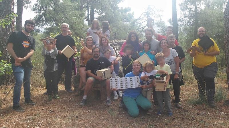 Acabamos el mes celebrando una Bat Night en la Sierra de Guadarrama